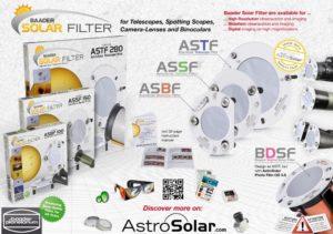 filtro solar para binoculos de 80mm