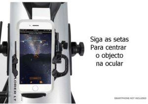 Telescopio Celestron StarSense 127/1000 AZ